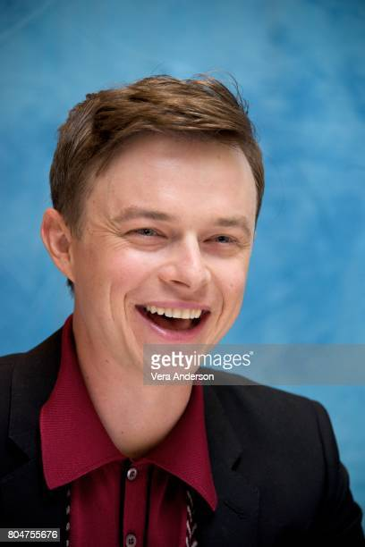 Dane DeHaan at the 'Valerian and the City of a Thousand Planets' Press Conference at the Four Seasons Hotel on June 30 2017 in Beverly Hills...