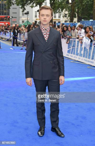 Dane DeHaan attends the European Premiere of 'Valerian And The City Of A Thousand Planets' at Cineworld Leicester Square on July 24 2017 in London...