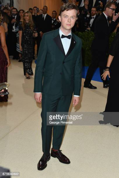 Dane DeHaan attends the 'Rei Kawakubo/Comme des Garcons Art Of The InBetween' Costume Institute Gala at Metropolitan Museum of Art on May 1 2017 in...