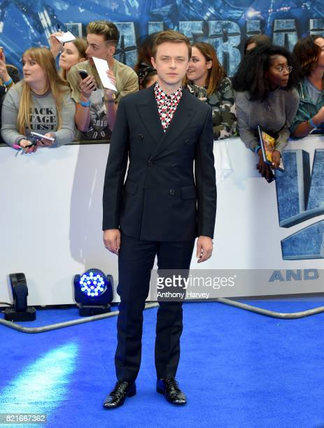 Dane DeHaan attends the 'Valerian' European premiere at Cineworld Leicester Square on July 24 2017 in London England