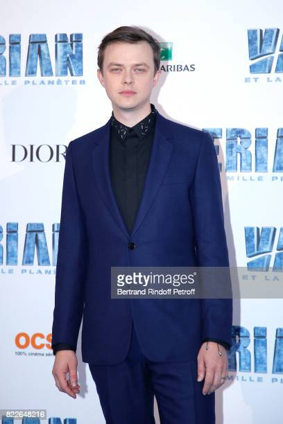 Dane DeHaan attends Valerian and the City of a Thousand Planets Paris Premiere at La Cite Du Cinema on July 25 2017 in SaintDenis France