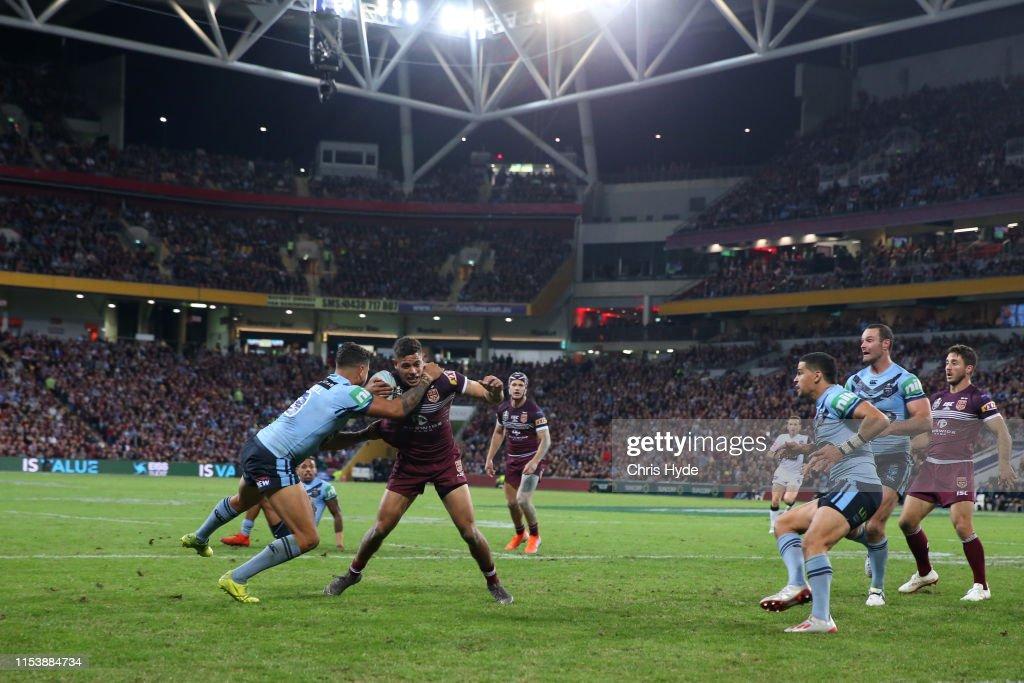 State of Origin - QLD v NSW: Game 1 : News Photo