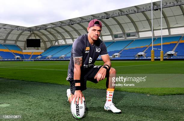 Dane Gagai poses for a photo during a Queensland Maroons State of Origin training session at Cbus Super Stadium on October 27, 2020 in Gold Coast,...