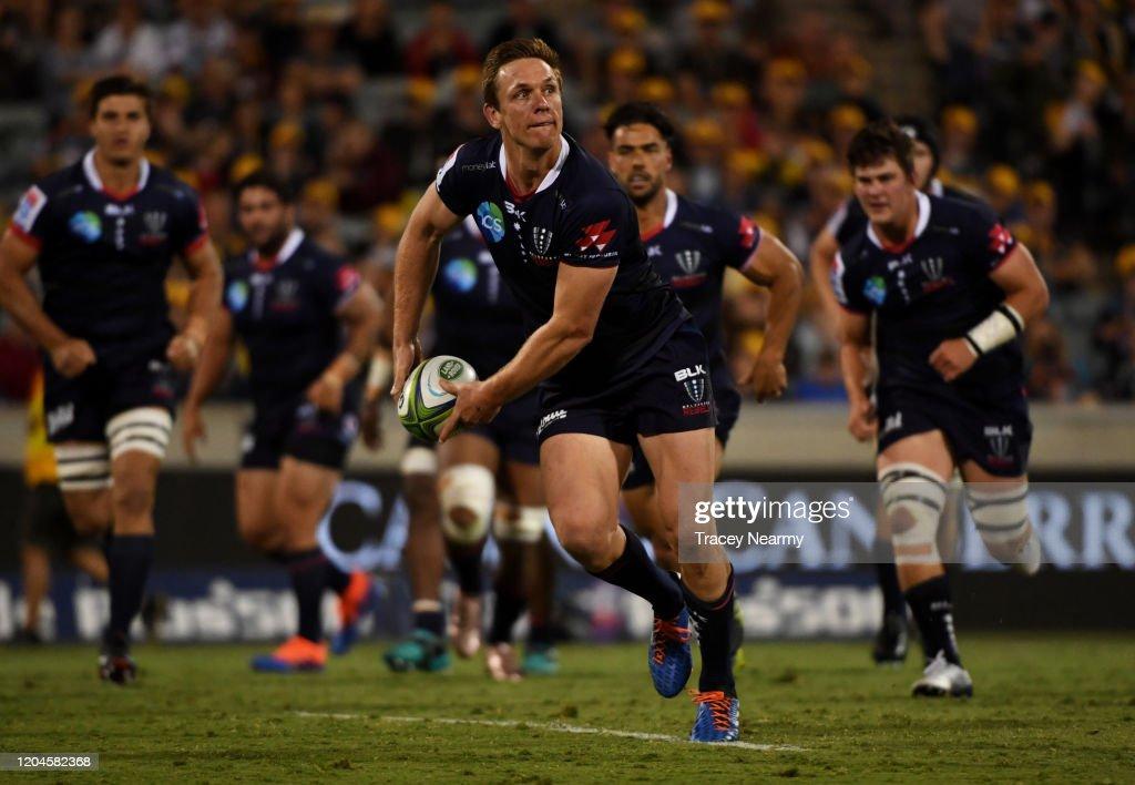 Super Rugby Rd 2 - Brumbies v Rebels : ニュース写真