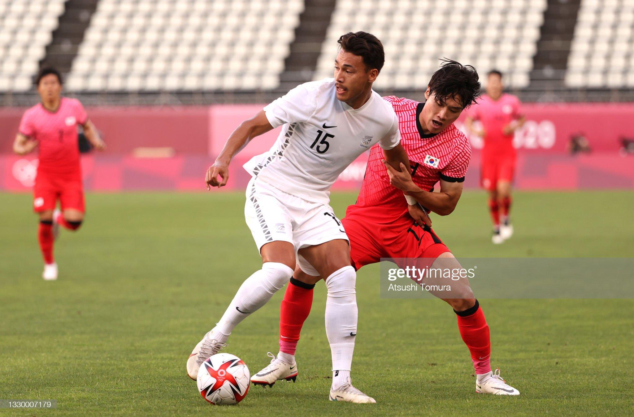 New Zealand v Republic of Korea: Men's Football - Olympics: Day -1 : News Photo
