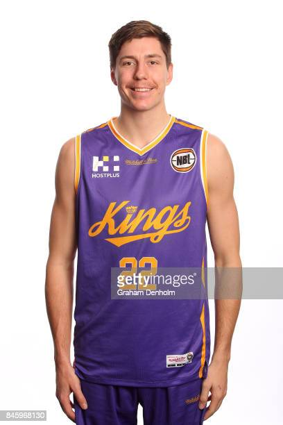 Dane Pineau of the Sydney Kings poses during the 2017/18 NBL Media Day at Crown Entertainment Complex on September 11 2017 in Melbourne Australia