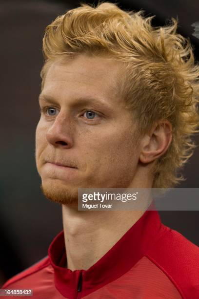 Dane Shea of the United States attends a match between Mexico and US as part of FIFA 2014 World Cup Qualifier at The Azteca stadium on March 26 2013...