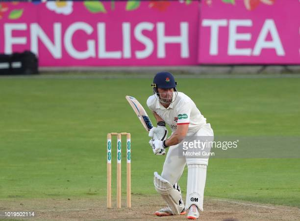 Dane Vilas of Lancashire batting during day one of the Specsavers County Championship match between Surrey and Lancashire at The Kia Oval Cricket...