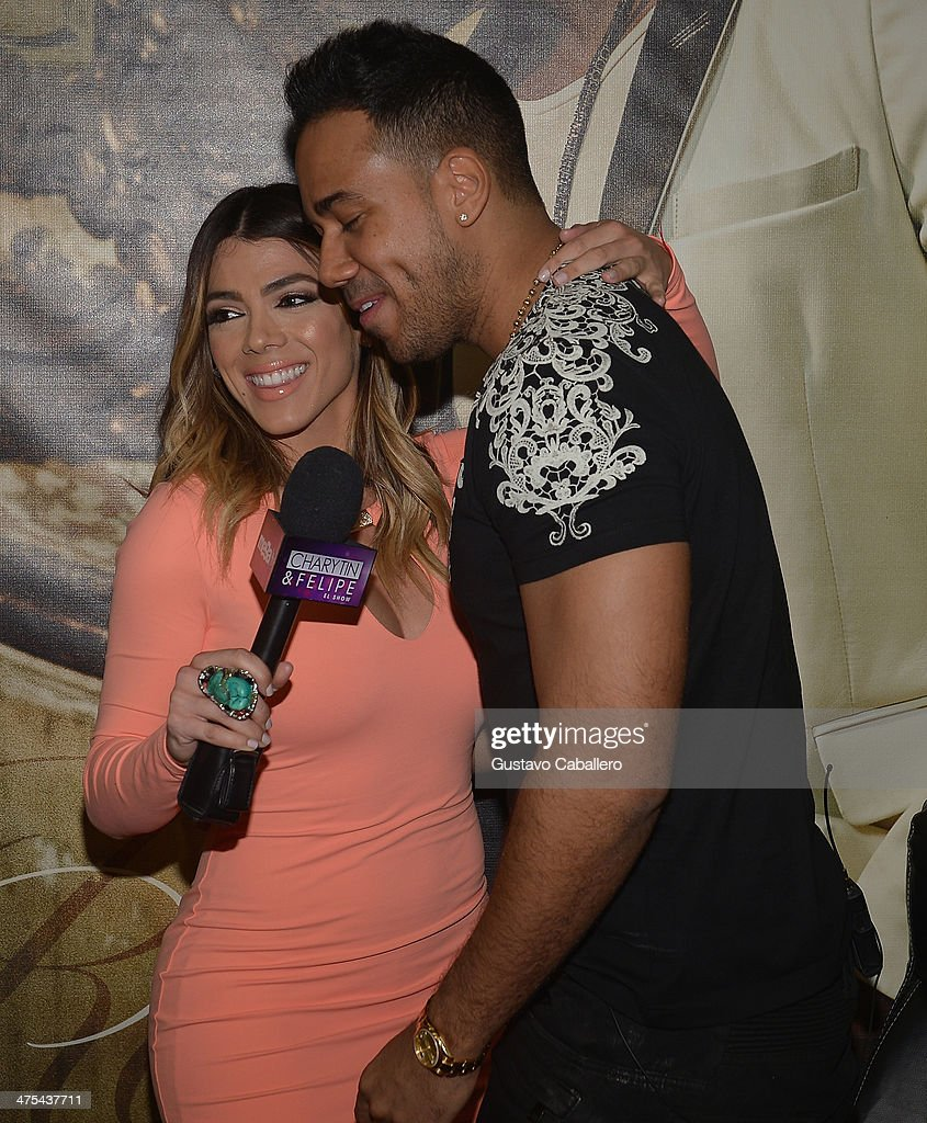 Danella Urbay And Singer Romeo Santos Attends His Meets And Greets