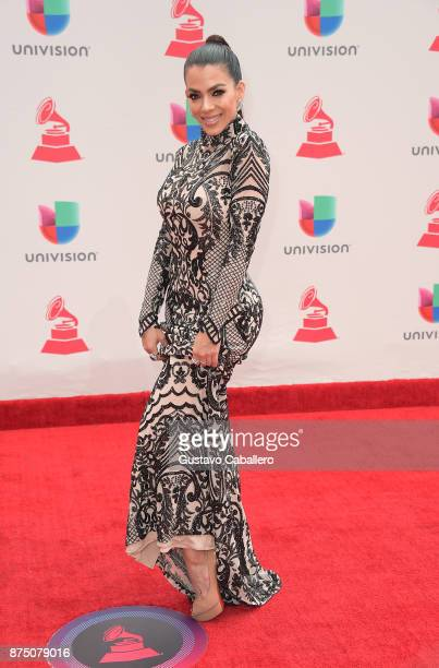 Danella Urbay attends the 18th Annual Latin Grammy Awards at MGM Grand Garden Arena on November 16 2017 in Las Vegas Nevada