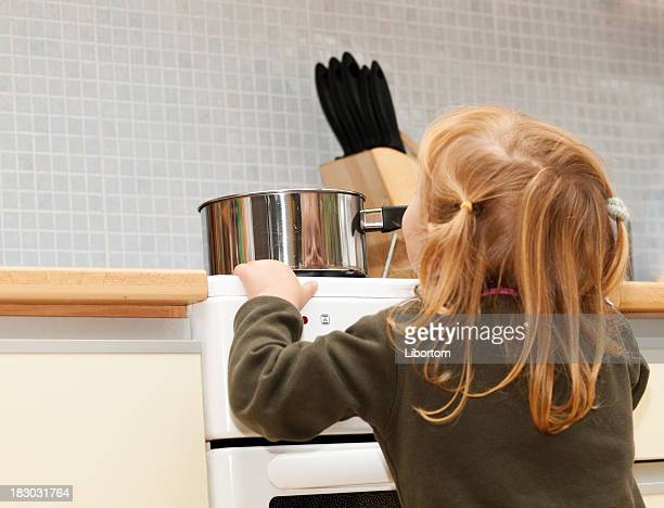 Danger in kitchen