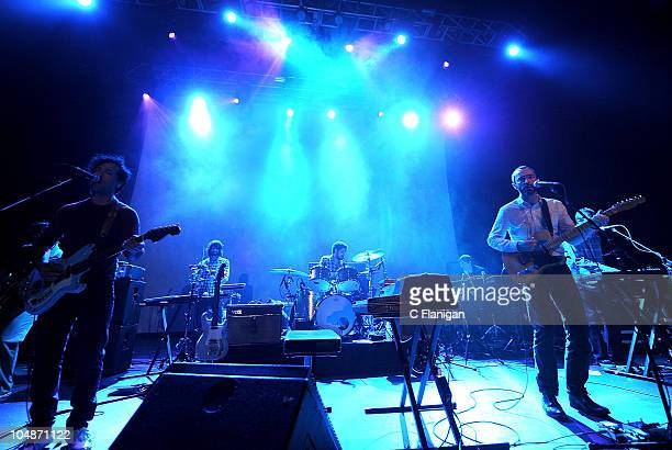Danger Mouse and James Mercer of Broken Bells perform at The Fox Theatre on October 5 2010 in Oakland California