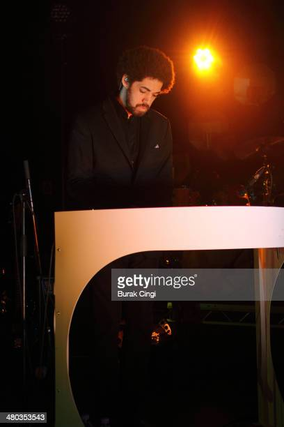 Danger Mouse of Broken Bells performs on stage at Shepherds Bush Empire on March 24 2014 in London United Kingdom