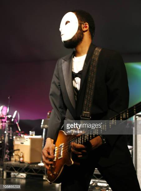 Danger Mouse of Gnarls Barkley during Samsung and Sprint Present the UpStage Country Club Red Carpet and Inside at Private Residence in Beverly Hills...