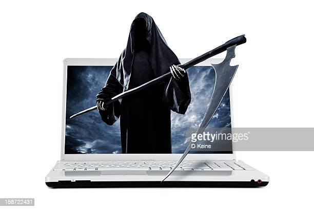 danger - grim reaper stock pictures, royalty-free photos & images