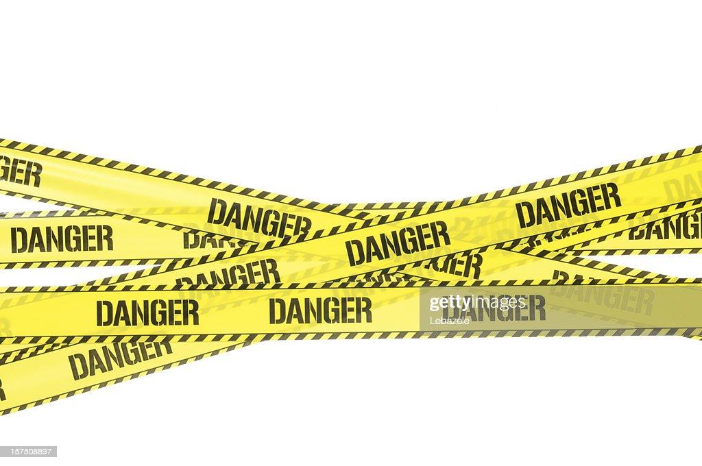 Danger Strip : Stock Photo