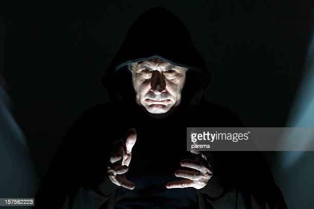 dangerous demon - male flashers stock photos and pictures