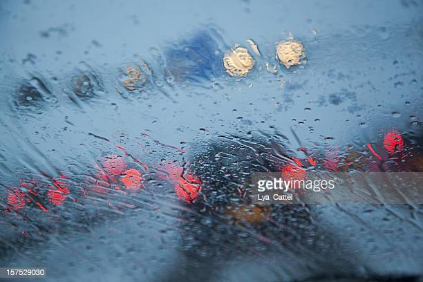 dangerous driving # 3 xxxl - windshield wiper stock photos and pictures