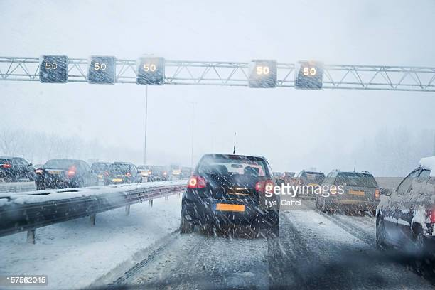 dangerous driving # 4 xxxl - snow stock photos and pictures
