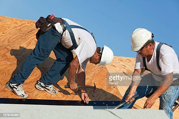 dangerous jobs - membrane stock photos and pictures