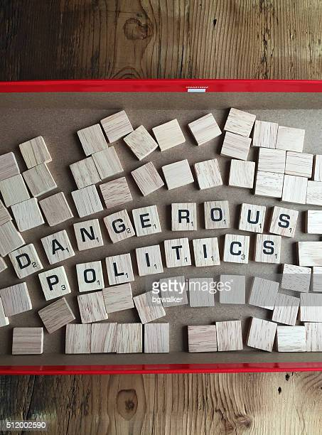Dangerous Politics in Scrabble Letters