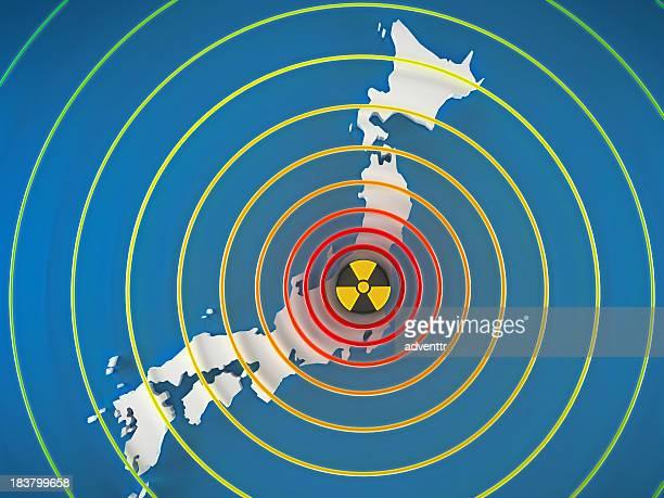 日本で危険な放射能レベル