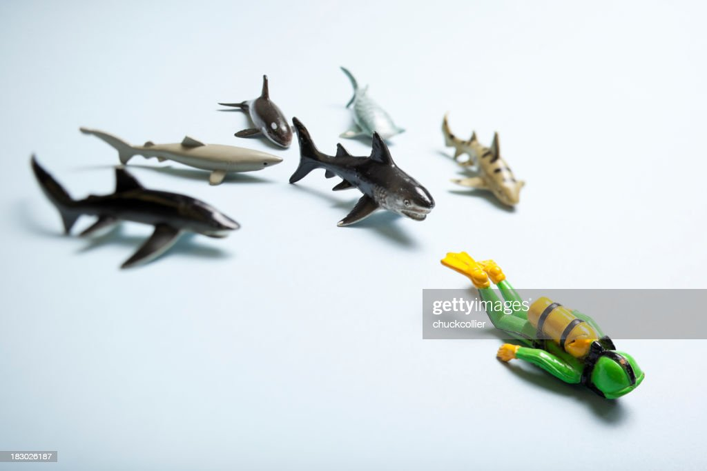 Dangerous Waters : Stock Photo