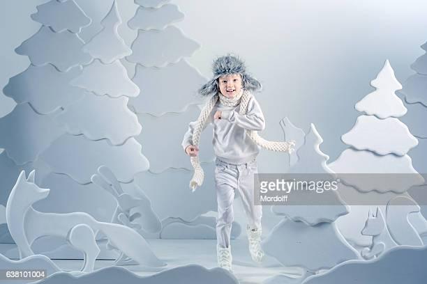 Dangers In Fairy Winter Forest