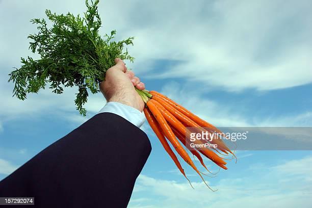 Dangling a cenouras Metaphor sucesso