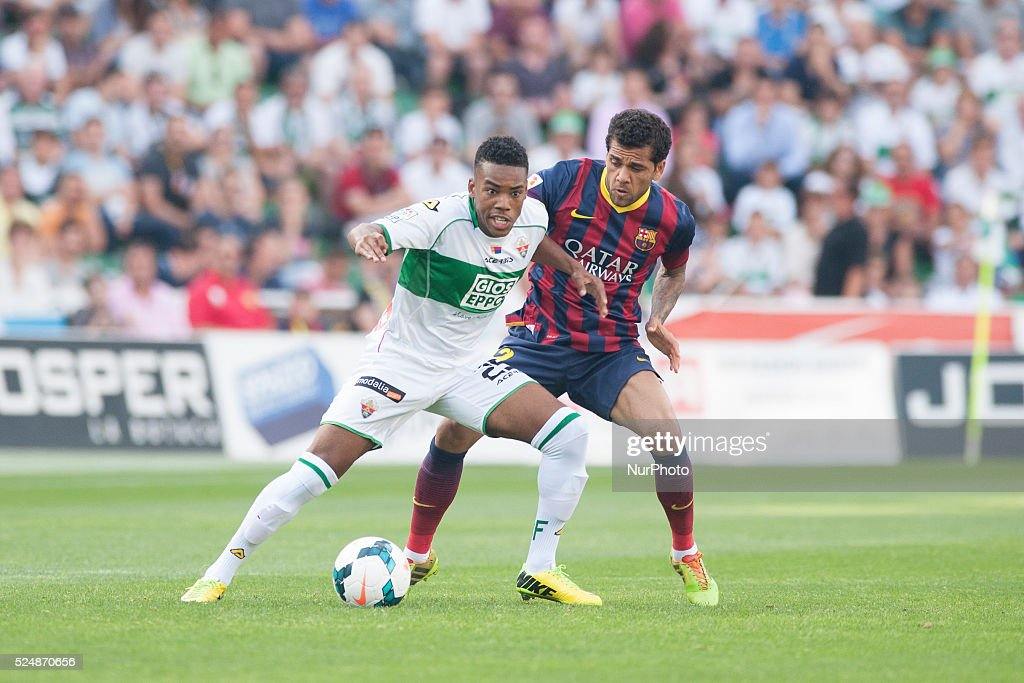 Liga BBVA: Elche vs FC Barcelona : News Photo