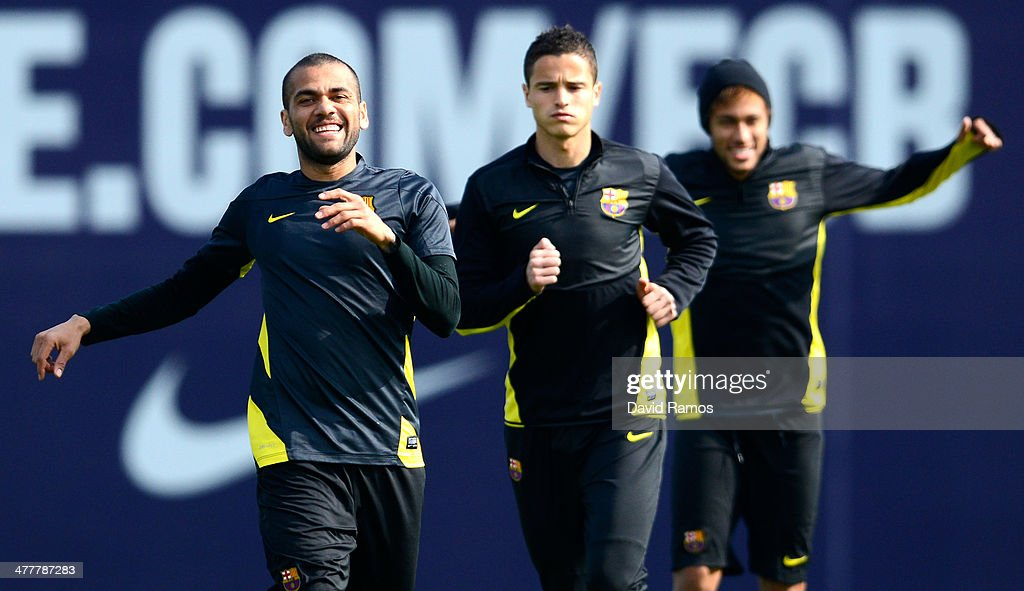FC Barcelona Training Session : News Photo