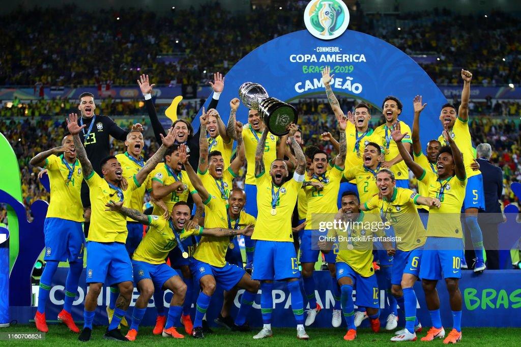 Brazil v Peru: Final - Copa America Brazil 2019 : ニュース写真