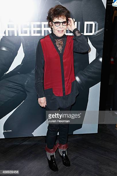 Dani attends the 'Karl Lagerfeld Homme' Opening Boutique At Rue Marbeuf on October 9 2014 in Paris France