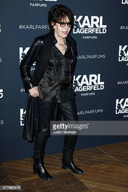 Dani attends the Karl Lagerfeld New Perfume launch party at Palais Brongniart on March 11 2014 in Paris France