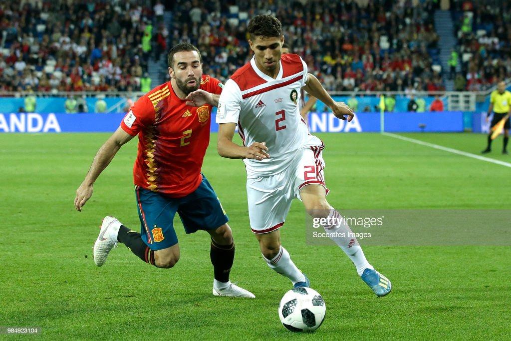 Spain  v Morocco  -World Cup : News Photo