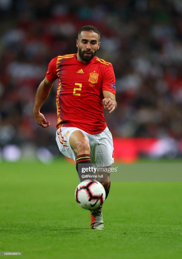 England v Spain - UEFA Nations League A : News Photo