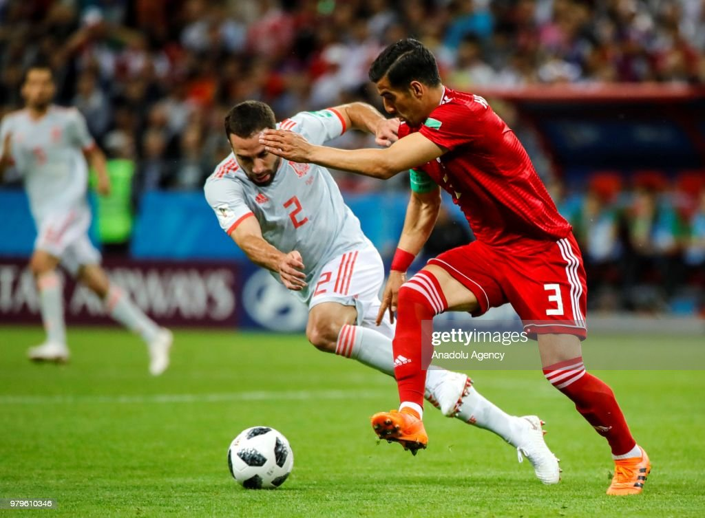 Iran v Spain : Group B - 2018 FIFA World Cup Russia : News Photo