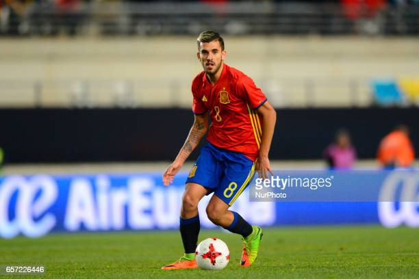 Dani Ceballos during the friendly match of national teams U21 of Spain vs Denmark in stadium Nueva Condomina Murcia SPAIN March 23rd 2017
