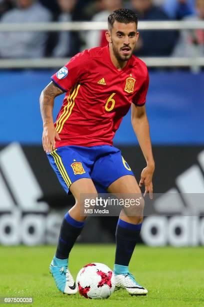 Dani Ceballos during the UEFA European Under21 match between Spain and FYR Macedonia on June 17 2017 in Gdynia Poland