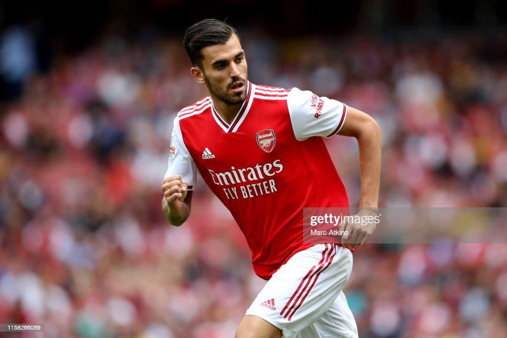 Arsenal v Olympique Lyonnais - Emirates Cup : ニュース写真