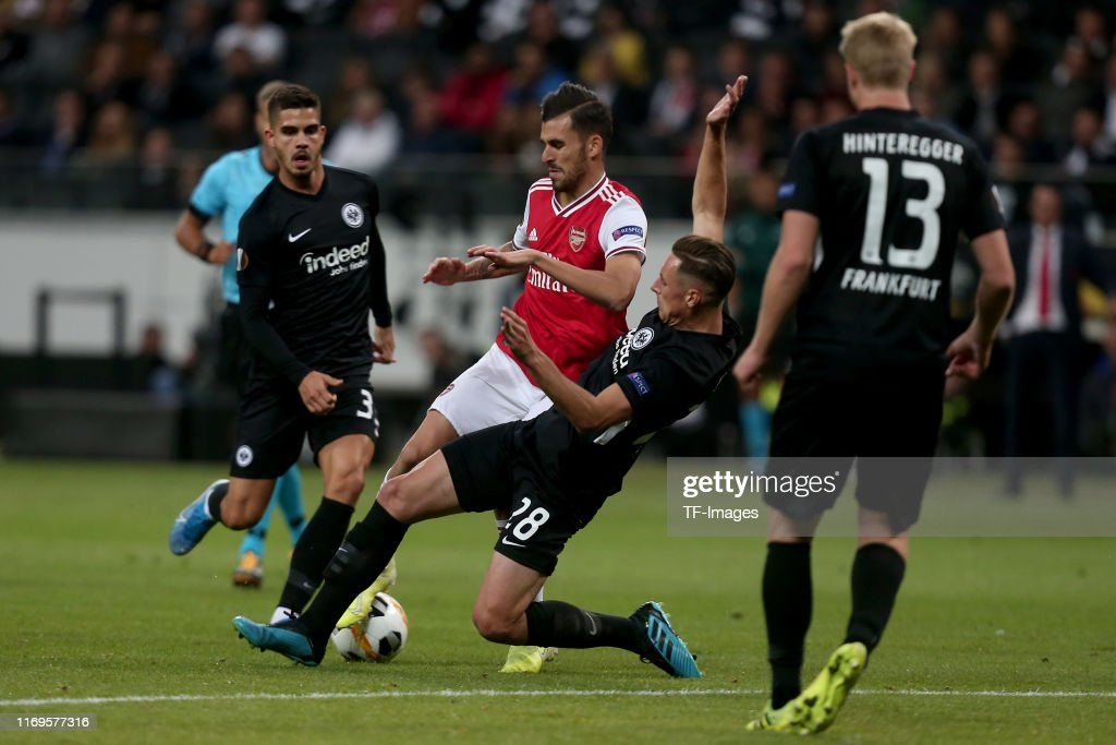 Eintracht Frankfurt v Arsenal FC: Group F - UEFA Europa League : News Photo