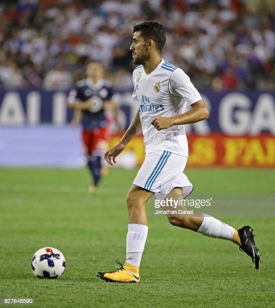 Dani Ceballos of Real Madird looks to pass against the MLS AllStars during the 2017 MLS All Star Game at Soldier Field on August 2 2017 in Chicago...