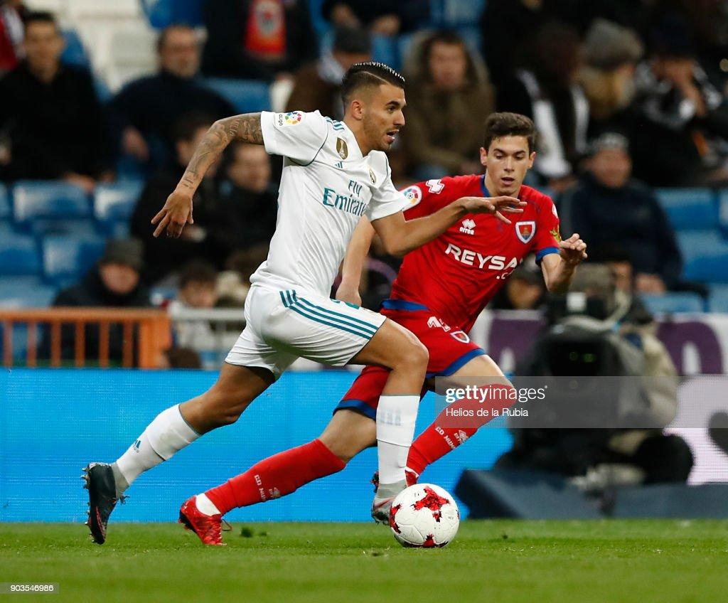 Real Madrid v Numancia - Copa Del Rey : ニュース写真