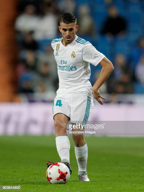 Dani Ceballos of Real Madrid during the Spanish Copa del Rey match between Real Madrid v Numancia on January 10 2018
