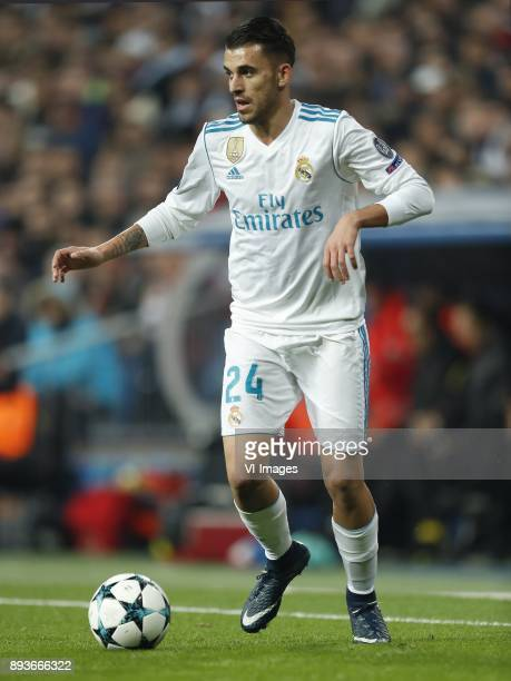 Dani Ceballos of Real Madrid during the UEFA Champions League group H match between Real Madrid and Borussia Dortmund on December 06 2017 at the...