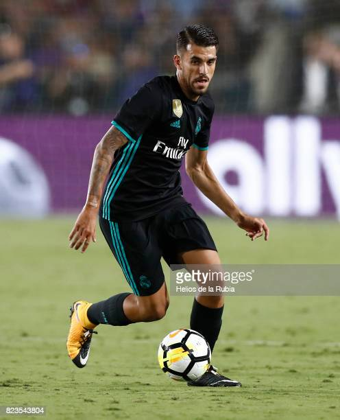 Dani Ceballos of Real Madrid in action during the International Champions Cup 2017 match between Manchester City v Real Madrid at Memorial Coliseum...