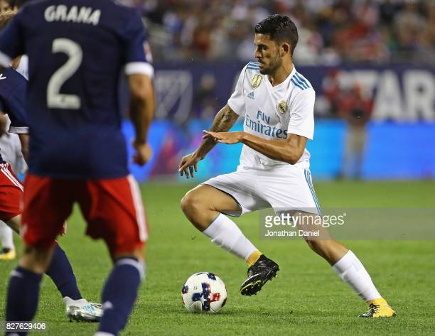 Dani Ceballos of Real Madrid moves against the MLS AllStars during the 2017 MLS All Star Game at Soldier Field on August 2 2017 in Chicago Illinois...