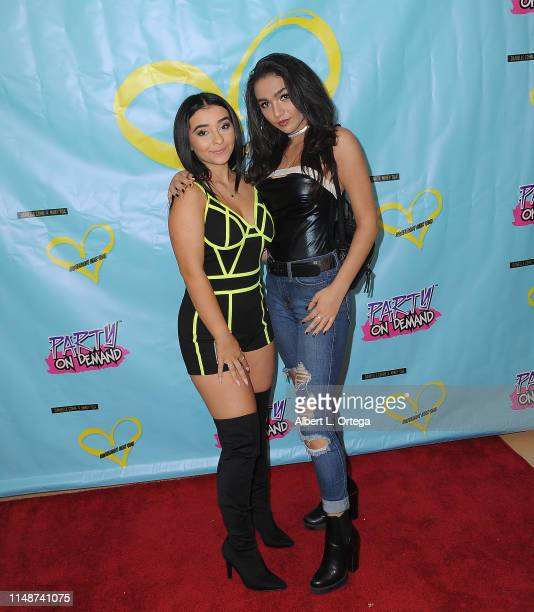 Dani Cohn and Neven Crisorio attend the Release Party For Dani Cohn And Mikey Tua's Song Somebody Like You held at The Industry Loft on June 8 2019...