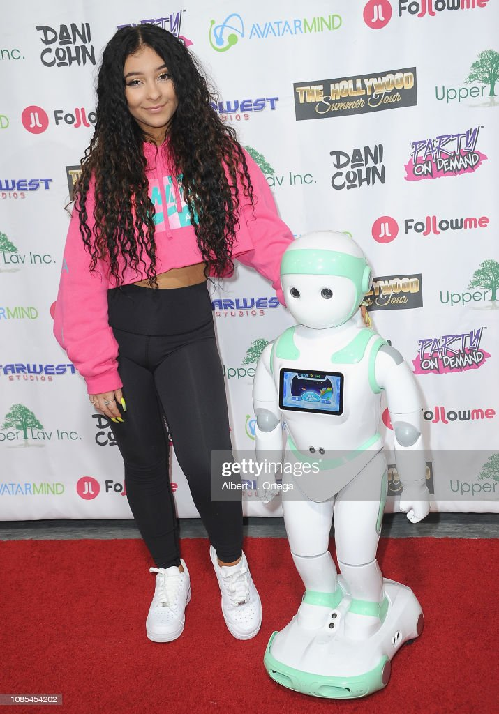 """Danielle Cohn's Music Video Release Party For """"Lights Camera Action!"""" : News Photo"""