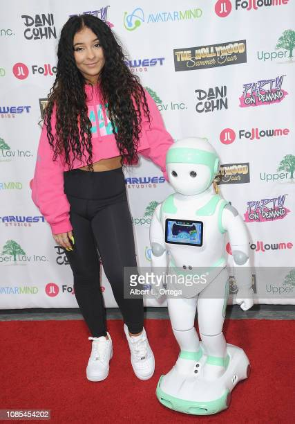 Dani Cohn attends Danielle Cohn's Music Video Release Party For Lights Camera Action held at Starwest Studios on January 19 2019 in Burbank California